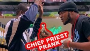 Zfancy Comedy – AFRICAN CHIEF GREETING PRIEST PRANK
